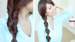 Quick&Easy Faux Braid Hairstyles for Medium Long Hair Tutorial