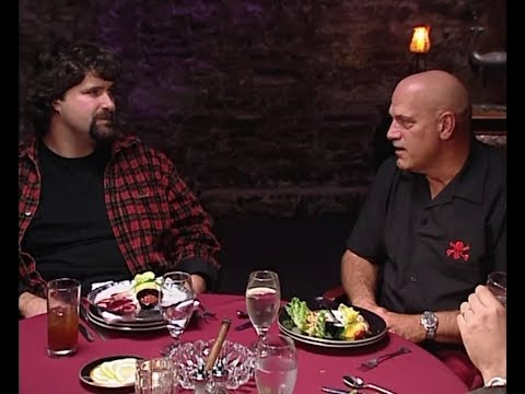 WWE Beyond The Mat - Dinner With Gov. Jesse Ventura & Mick Foley