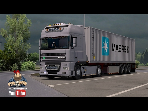 DAF XF 95 REWORKED 1.24.x - 1.26.x for ETS@2