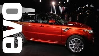 New 2014 Range Rover Sport New York Auto Show Review- Evo Diaries