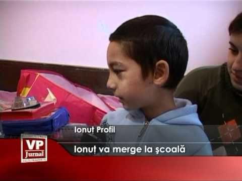 Ionut va merge la scoala