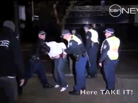 Dirty Cops In Australia Caught On Camera