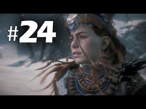 Horizon Zero Dawn Gameplay Walkthrough Part 24 - Mountain That Fell (PS4 Pro) (видео)