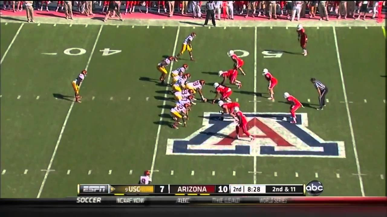 Matt Barkley vs Arizona (2012)
