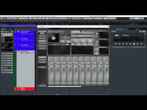 Cubase Tutorial - Drum Replacement / Triggering Drums from a SINGLE drum track