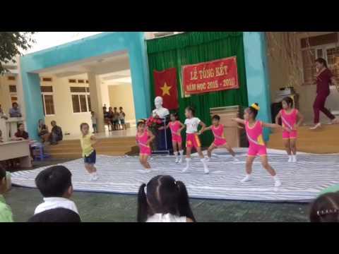 Thể dục nhịp điệu - Trường Mầm Non Thị Trấn Cầu Kè