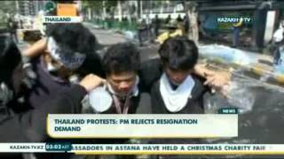 Thailand Protests PM Rejects Resignation Demand