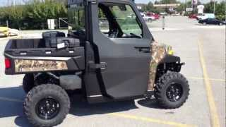 1. 2013 Polaris Ranger XP 900 with Power Windows and Pro Fit Cab System