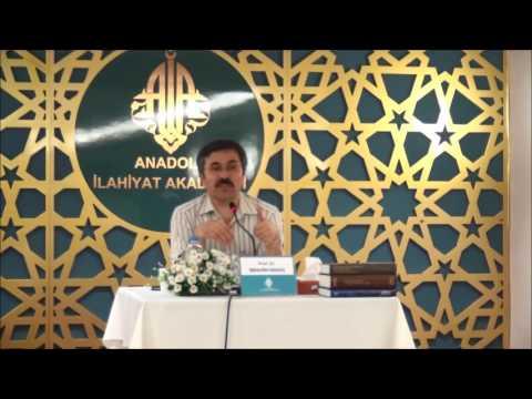 Prof. Dr. İbrahim MARAŞ ile ''Musa Carullah'' konulu seminer