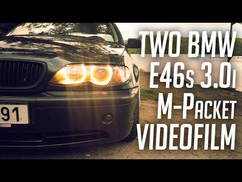 Lowered BMW E46 330i with 19