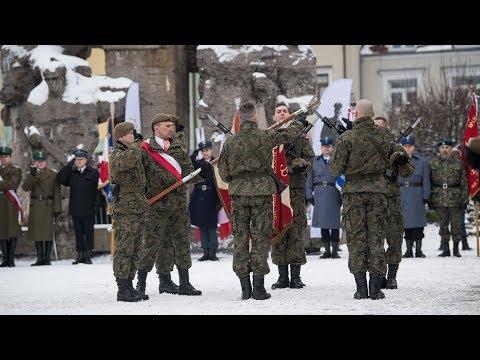 Przysięga żołnierzy WOT we Włodawie - przemówienie ministra Mariusza Błaszczaka