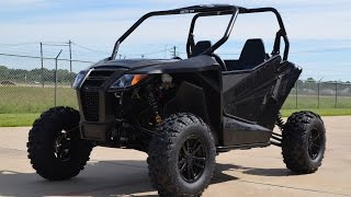 9. $15,699:  2015 Arctic Cat Wildcat Sport Limited in Matte Black  Overview and Review