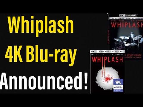 Whiplash (2014) 4K UHD Blu-ray Announced!