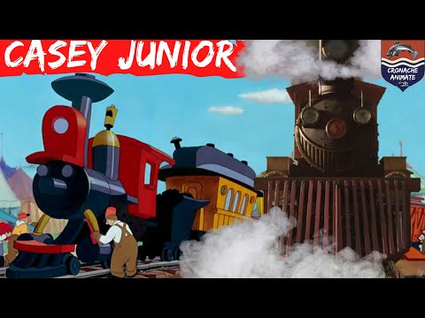 Every 🚂 CASEY JUNIOR 🚂 (1941 - 2019) | In Movies, Tv Series, Cartoons