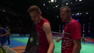 Video Yonex All England Open 2017 | Badminton QF M5-MS | Lin Dan vs Viktor Axelsen MP3, 3GP, MP4, WEBM, AVI, FLV April 2018