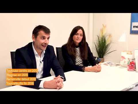 Rencontrez les Franchisés de Meilleurtaux.com - Lucile et Didier, directeurs de 4 agences à Toulouse