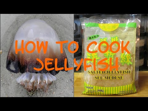 How To Cook Jellyfish  (Weird Asian Food Edition)