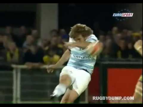 Francois Steyn monster drop goal against Clermont