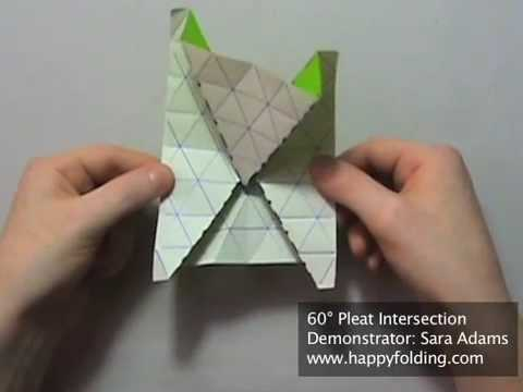 Tip 84 - Tessellation Basics: 60 Degree Pleat Intersection