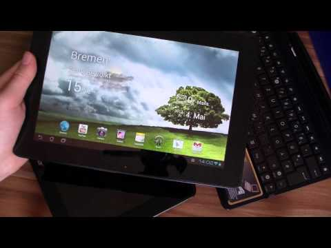 ASUS Transformer Pad TF300T Unboxing and Hands On