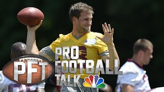 Vikings players 'elated' by Kirk Cousins signing | Pro Football Talk | NBC Sports