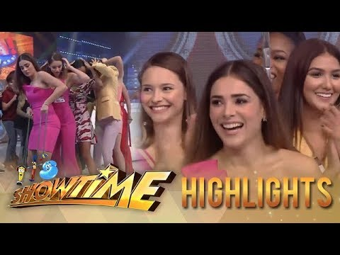 It's Showtime Cash-Ya!: Miss Universe 2014 Beauty Queens Take On Cash-Ya!