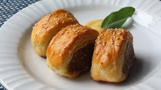 Sausage Rolls Recipe - How to Make Sausage Rolls by Food Wishes