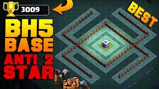 Clash of Clans Builder Base / Best BH5 Base [Anti 2 Star Builder Hall 5 Base]. Base done after NEW CoC Update with Troops and Buildings like Crusher, Multi Mortar, Push Trap, Cannon Cart, Double Cannon, Geared Up Cannon, Geared Up Archer Tower, Battle Machine aka New Hero, Gem Mine etc. Stay tuned for more Clash of Clans animation / defense strategy / base designs / layouts / speed builds / noob trolling bases / defensive replays! :) Can we hit 1000 likes? :3▽ FASTEST WAY TO EARN FREE GEMS: http://cashforap.ps/jaso▽ Instagram: https://www.instagram.com/clashjaso▽ Twitter: https://twitter.com/Clash_Jaso▽ Subscriber count: 150,593----------------------------------------­­---------------------------------------­-­---MY OTHER VIDEOS:CLASH OF CLANS BUILDER HALL 5 (COC BUILDER BASE)https://www.youtube.com/watch?v=Qe0O50YJLQY&tCLASH OF CLANS BH4 ANTI 1 STAR (COC UPDATE)https://www.youtube.com/watch?v=MkorBcgmMl0&tCLASH OF CLANS BUILDER BASE BH4 (BUILDER HALL 4 BASE)https://www.youtube.com/watch?v=dv-ZemdMRroCLASH OF CLANS BH5 BASE (ANTI GIANT)https://www.youtube.com/watch?v=-yhSbRCcHmI&t----------------------------------------­­---------------------------------------­-­---Songs used: 1) Y&V - Lune [NCS Release]2) Defqwop - Heart Afire (feat. Strix) [NCS Release]3) Tobu & Marcus Mouya - Running Away [NCS Release]4) Desmeon - On That Day (feat. ElDiablo, Flint & Zadik) [NCS Release]Provided by NCS https://www.youtube.com/user/NoCopyrightSoundsY&V• https://www.facebook.com/itsyandv• https://soundcloud.com/itsyandv• https://twitter.com/itsyandvDefqwop• https://soundcloud.com/defqwop• https://www.facebook.com/defqwopmusic• https://twitter.com/defqwopStrix• https://soundcloud.com/strixthesongstress• https://facebook.com/strixthesongstress• https://youtube.com/strixthesongstressTobu• https://www.facebook.com/tobuofficial• https://soundcloud.com/7obu• https://twitter.com/tobuofficial• https://www.youtube.com/user/tobuofficialMarcus Mouya• https://www.facebook.com/MarcusMouya• https://soundcloud.com/marcusmouyaofficial• http://instagram.com/marcusmouyaDesmeon• http://facebook.com/iamdesmeon• https://soundcloud.com/desmeon• http://twitter.com/iamdesmeonFlint & Zadik• http://twitter.com/flintnzadik----------------------------------------­­---------------------------------------­-­---SUBSCRIBE TO MY CHANNEL IF YOU ENJOYED THE VIDEO: https://www.youtube.com/c/Jaso505Cheers!