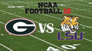 SEC Championship Game: NCAA 12: Georgia vs. LSU