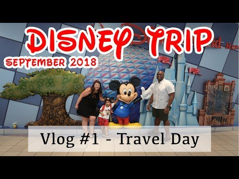 DISNEY VLOG #1 / TRAVELING TO ORLANDO / ANIMAL KINGDOM LODGE / MAGIC KINGDOM