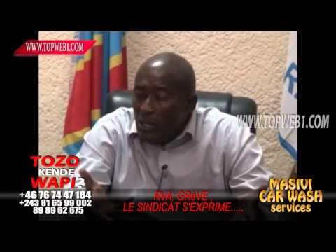 Kinshasa, Gréve à la RVA avec Esther IKA
