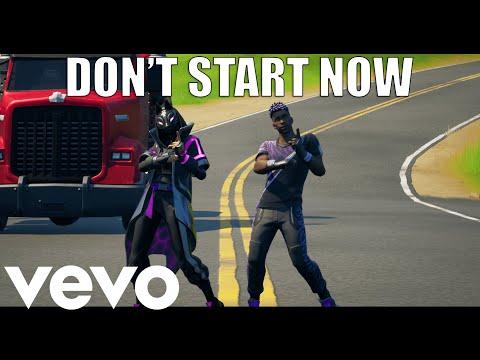 Fortnite - Don't Start Now (Official Fortnite Music Video) | Tik Tok Dance | @Dua Lipa