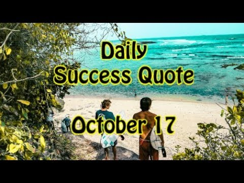 Quotes about life - Daily Success Quote October 17  Motivational Quotes for Success in Life
