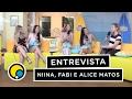 Entrevista com Niina Secrets, Fabi Santina e Alice Matos - Vida Fitness