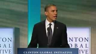 Obama Condemns Eritrea For Human Trafficking In The Sinai At Clinton Global Initiative