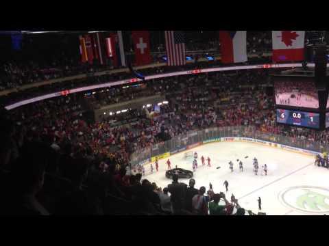 Российские хоккеисты проигнорировал гимн Канады.