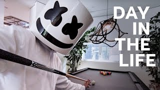 Video A Day in the Life of Marshmello MP3, 3GP, MP4, WEBM, AVI, FLV Maret 2019