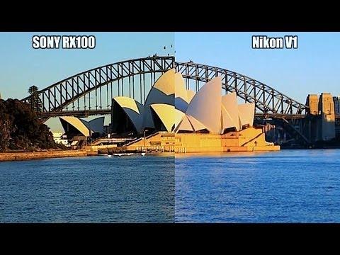 SONY RX100 vs NIKON V1 – Video Shoot-out