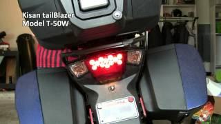 9. 2013 Triumph Trophy SE with Kisan tailBlazer T-50W