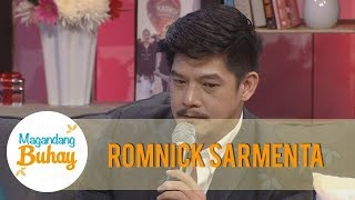 Video Magandang Buhay: Romnick tries to hold his tears while talking about his children MP3, 3GP, MP4, WEBM, AVI, FLV November 2018