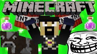 How to Troll Minecraft Youtubers - AntVenom