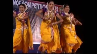 Step Art Dance Academy(Lavani Girls)-MJ DANCE CHAMPIONSHIP 2015