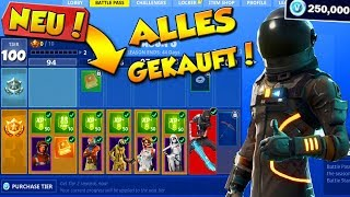 ICH KAUFE DEN GANZEN BATTLE PASS 3 Fortnite: Battle Royale