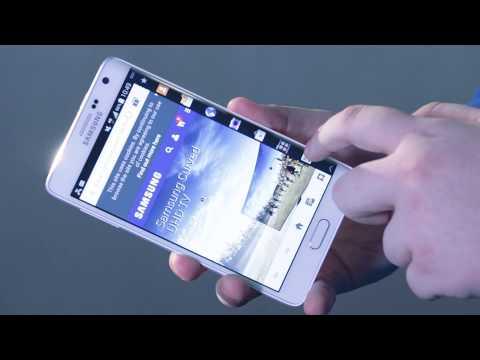 Samsung Note Edge - jak używać panel boczny