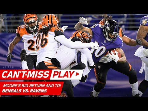 Video: Chris Moore Breaks Off Huge Kick Return & Catches TD Strike! | Can't-Miss Play | NFL Wk 17