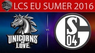 Shalke 04 vs UOL, game 2