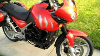 9. 2005 Triumph Tiger 955i  - Lucifer Orange