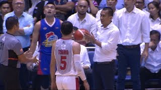 Coach Chito Victolero ejected from the playing court | PBA Governors' Cup 2018 Semifinals