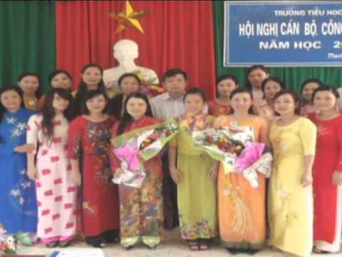 Công tác làm trường chuẩn ở trường Tiểu học Thạch Bàn
