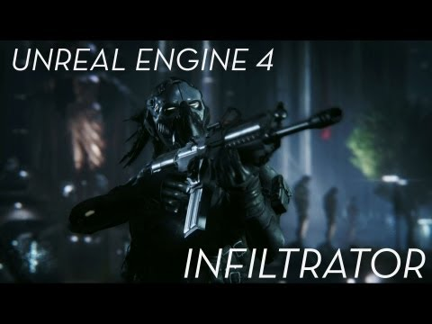 "Unreal Engine 4 ""Infiltrator"" Demo"